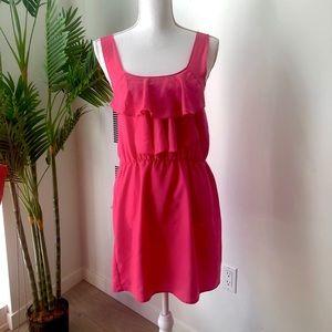 Oh My Love Ruffle Pink Dress
